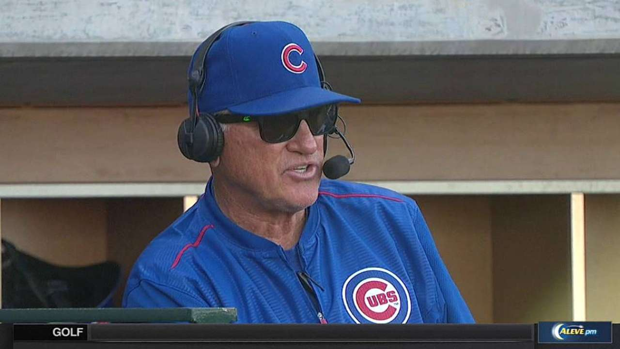 Maddon prepared for whenever Bryant arrives