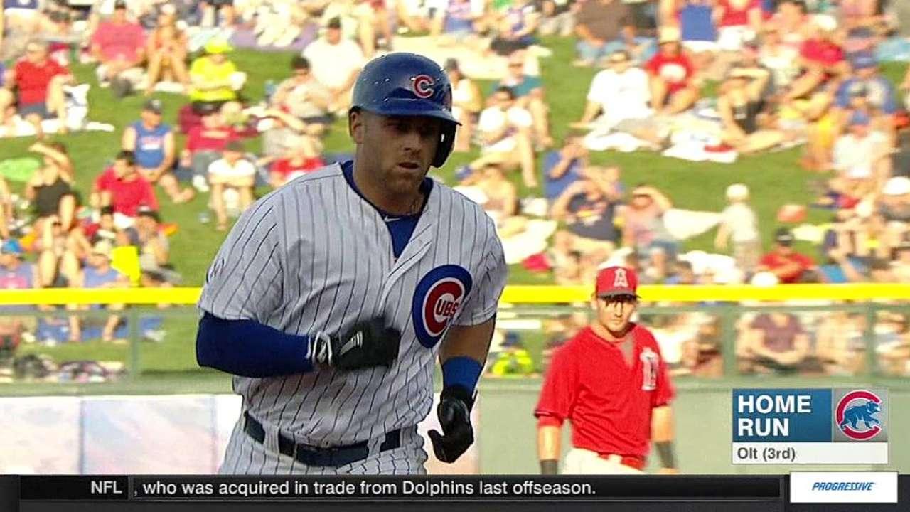 Olt's two-run homer