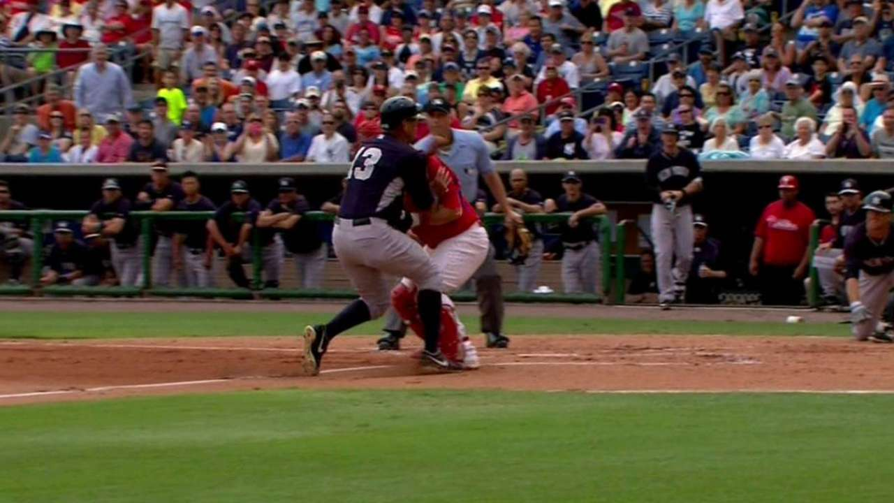 Francoeur's double play