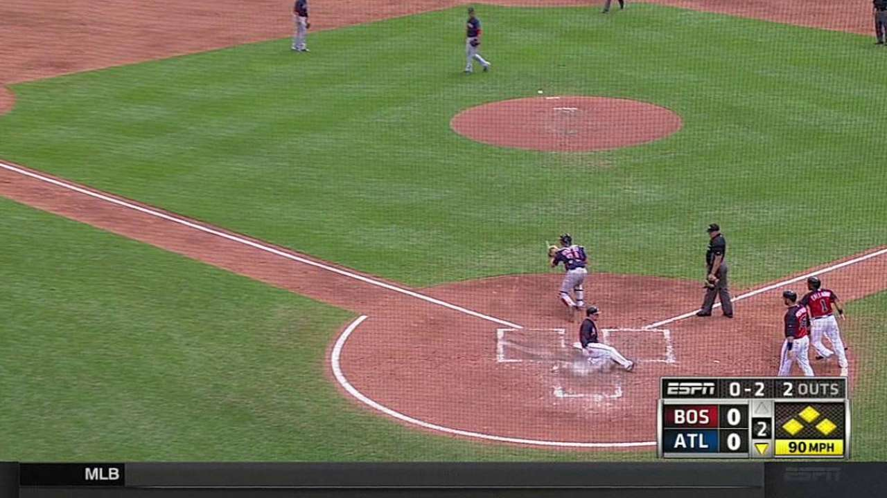Ciriaco's bases-clearing double