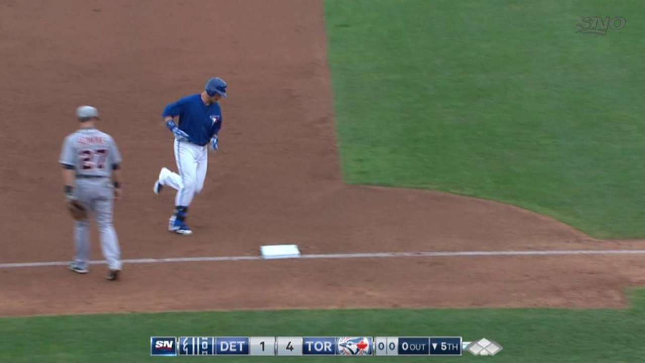 Smoak's two-run home run