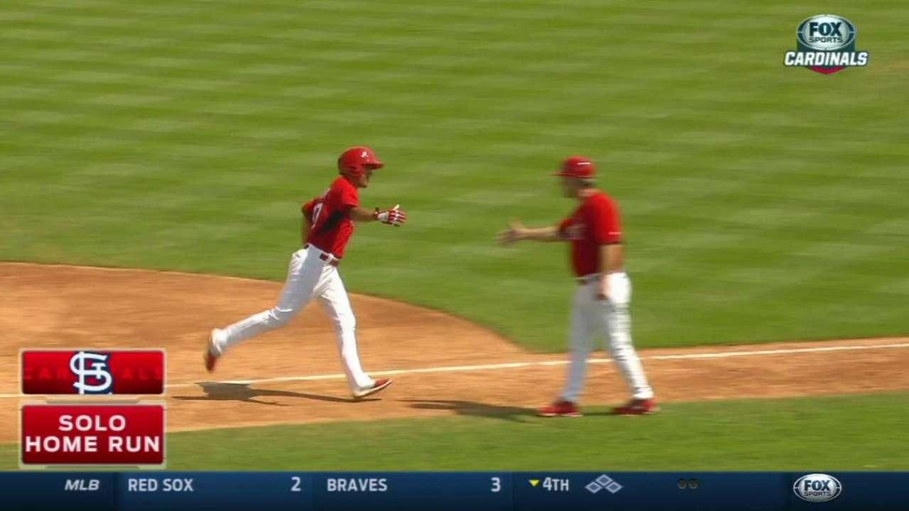 Ortega's solo home run
