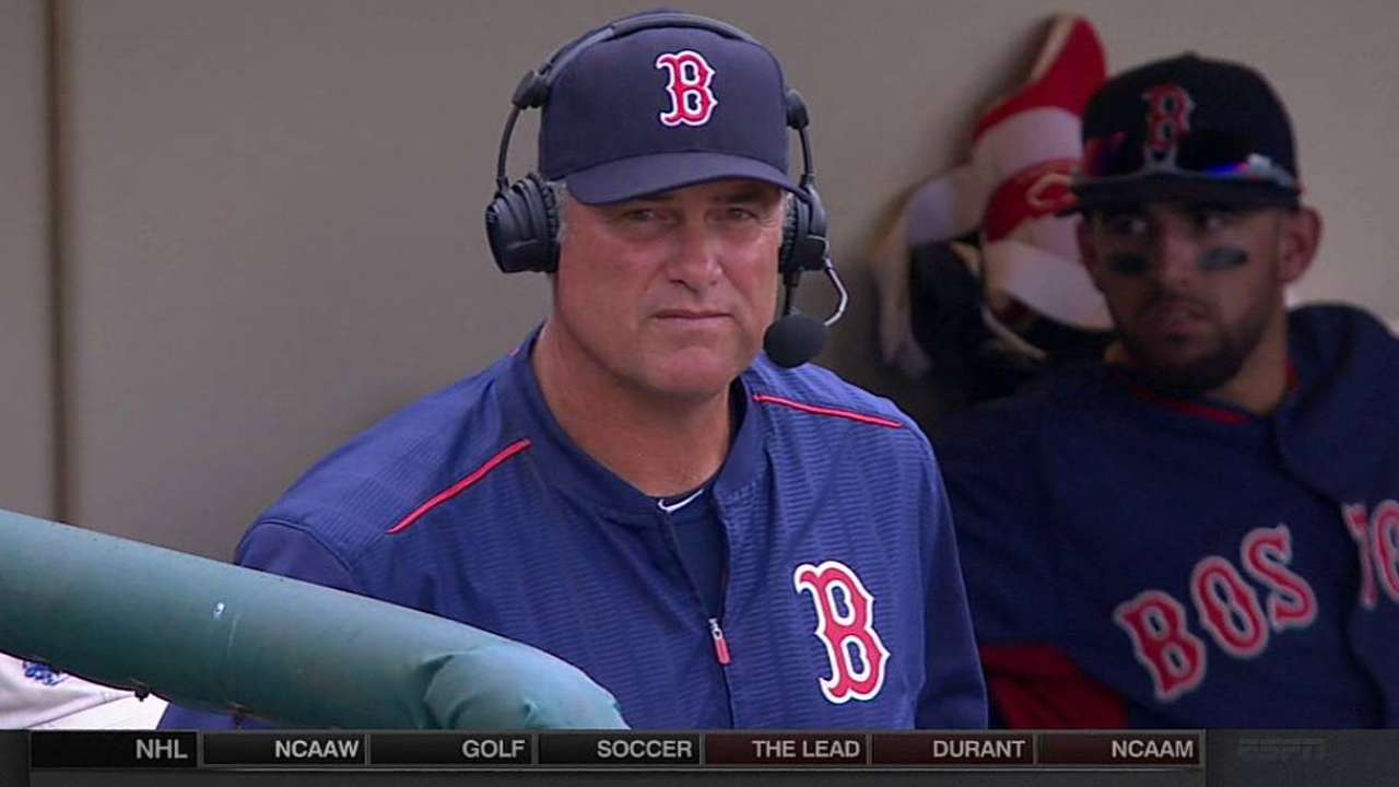 Red Sox expecting bats to come alive in 2015