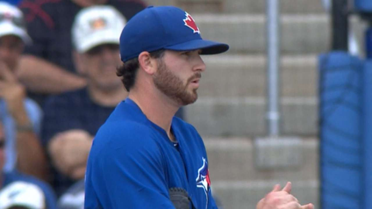Blue Jays show power in rain-shortened victory