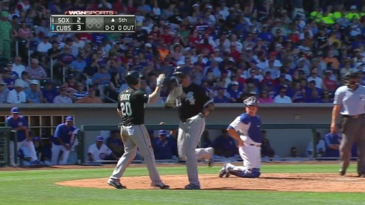 Two blasts not enough to support Shark vs. Cubs