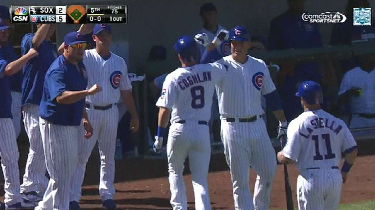 Coghlan's health to help determine final roster spots