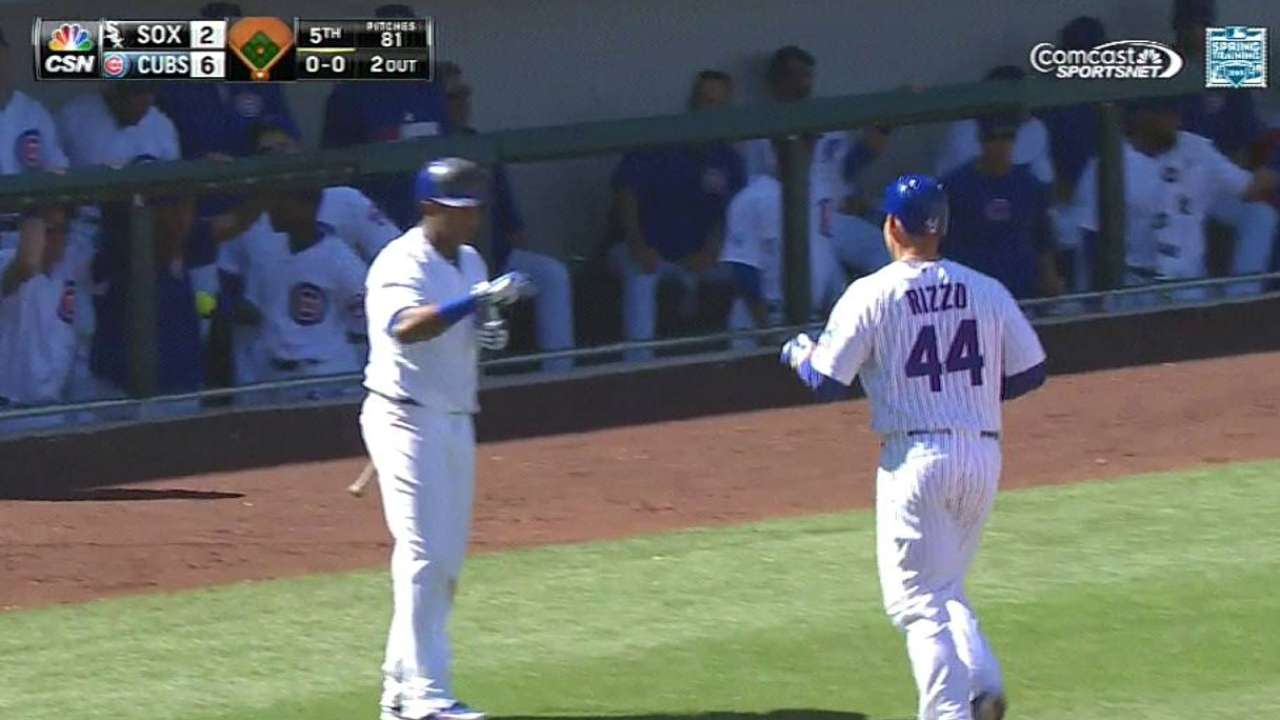 Cubs crush four homers against former ace