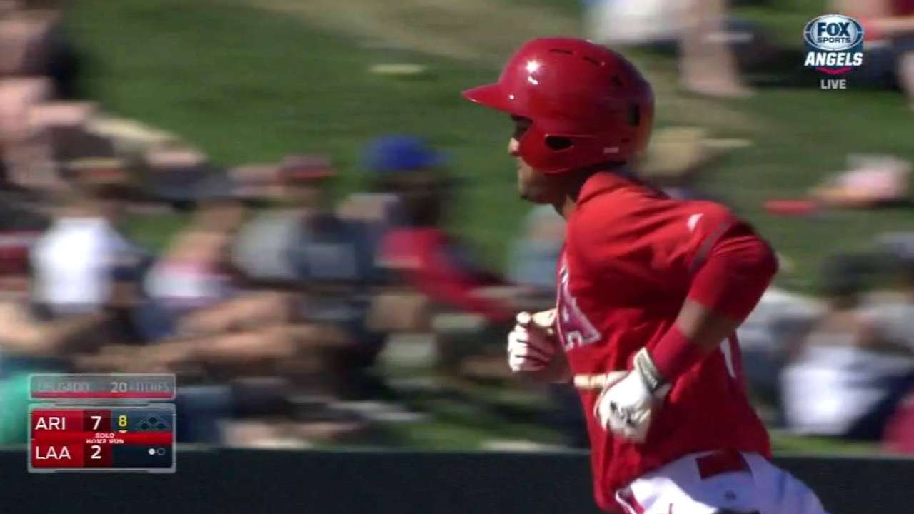 Cuban Baldoquin brings plenty of promise to Angels