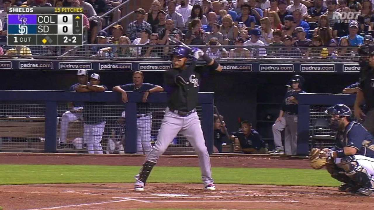 CarGo's RBI groundout