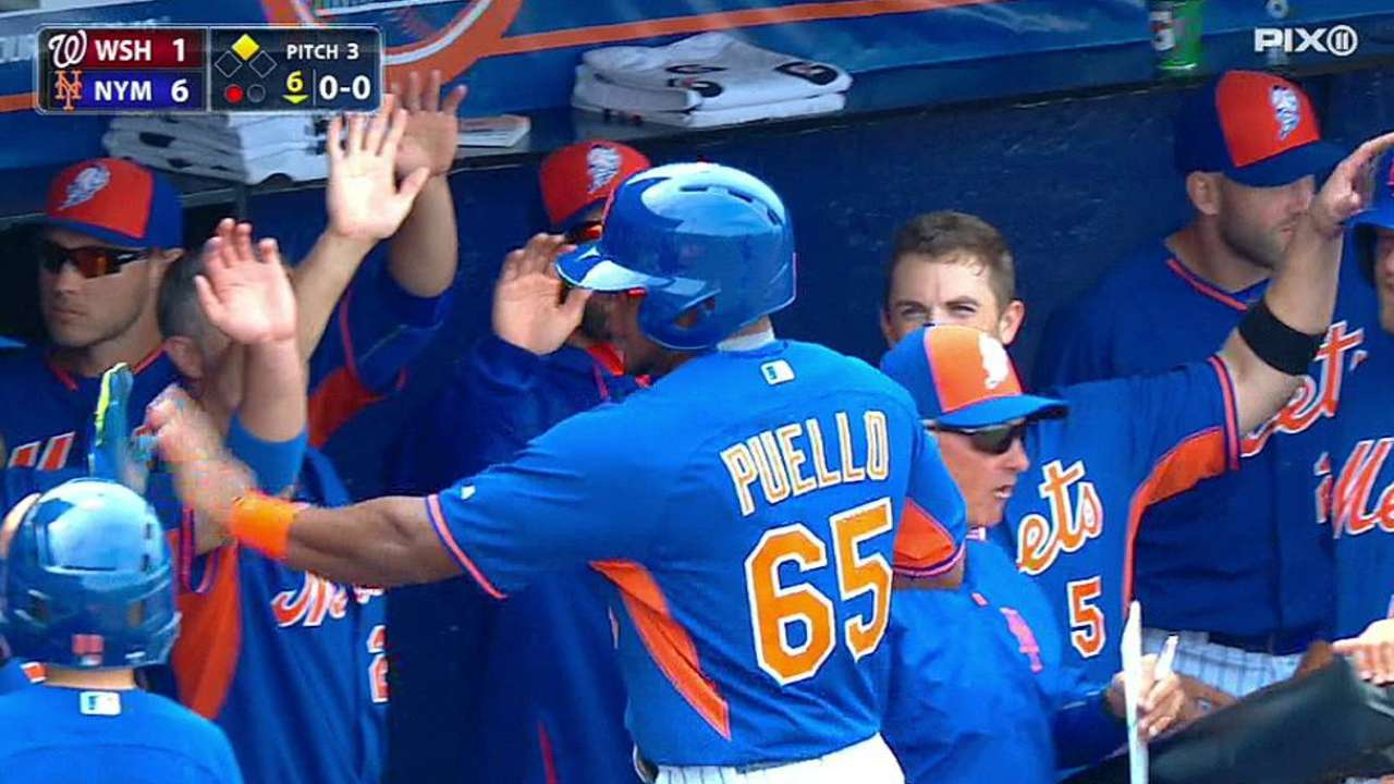 Flores ready to break through as key player for Mets
