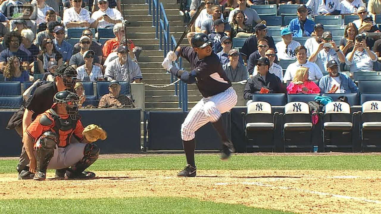 A-Rod adds third homer to consistent spring