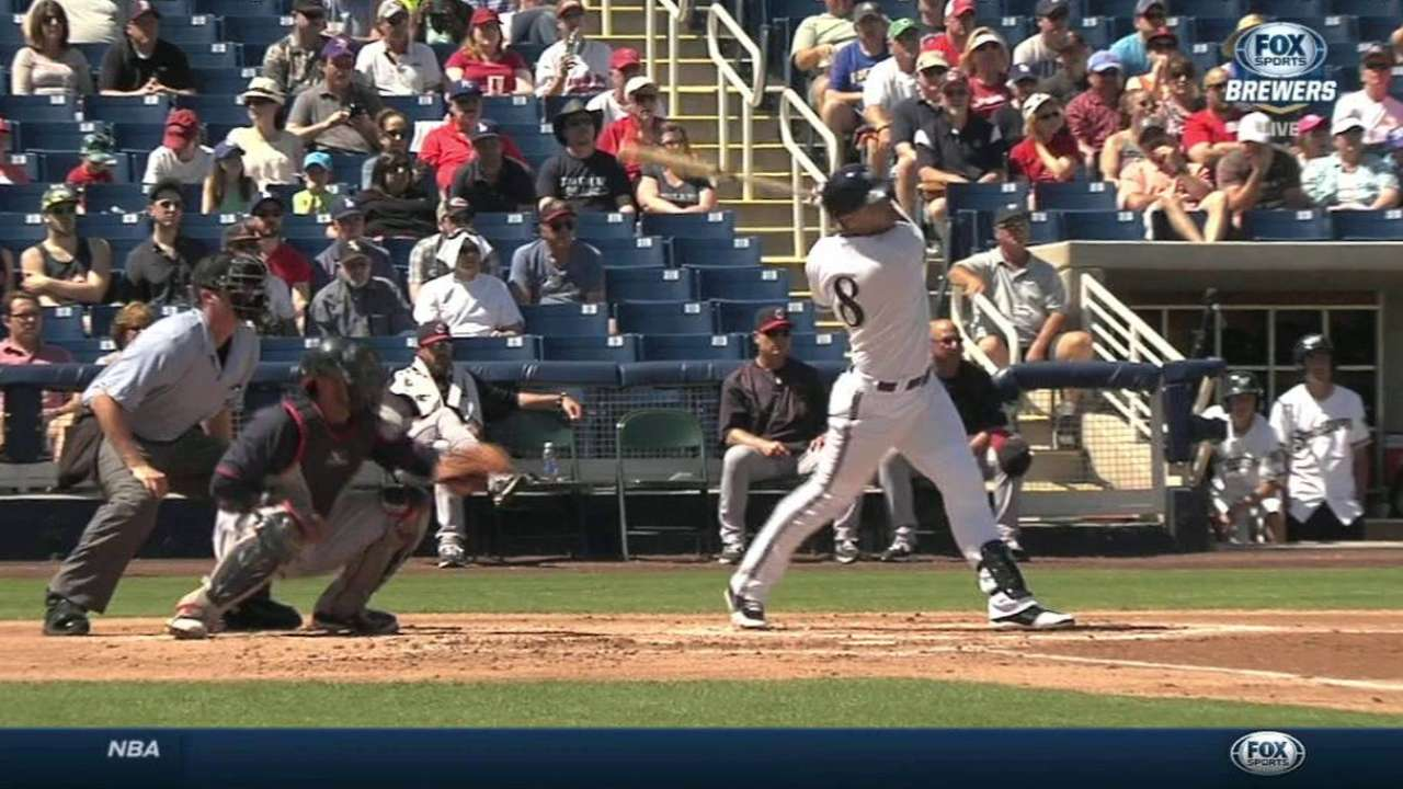 Peralta goes six strong vs. Indians, Braun stays hot