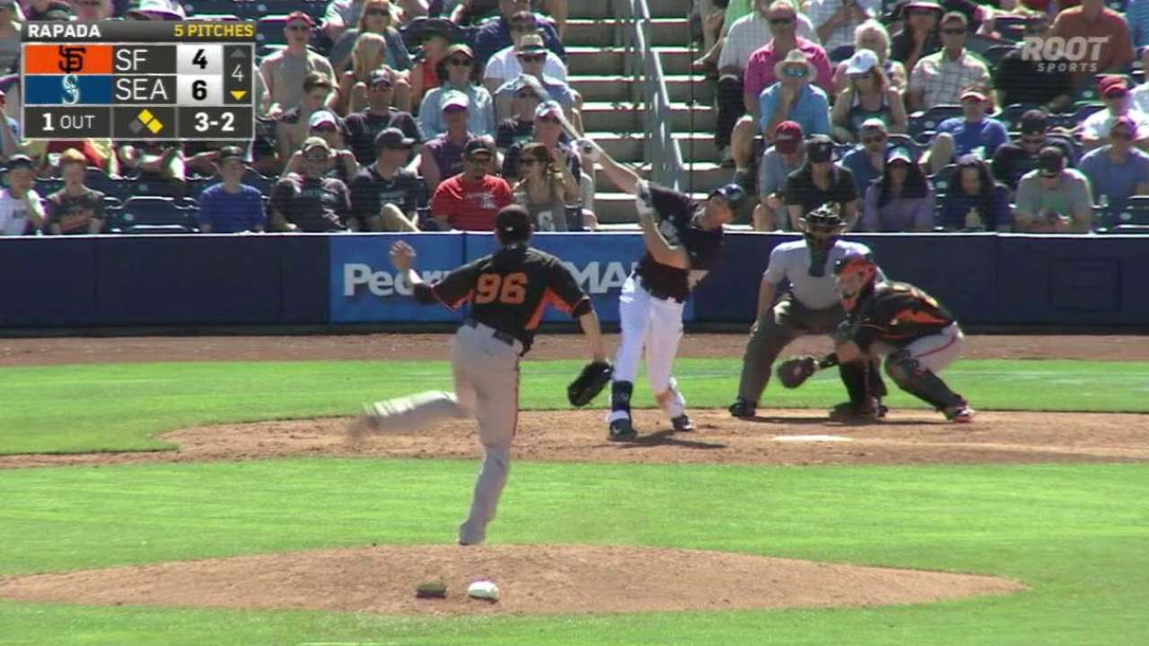 Posey completes double play