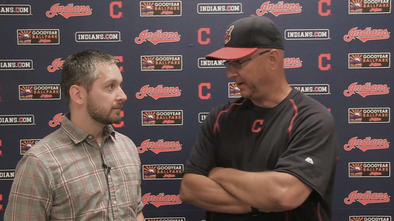 Francona nervous, excited for Opening Day