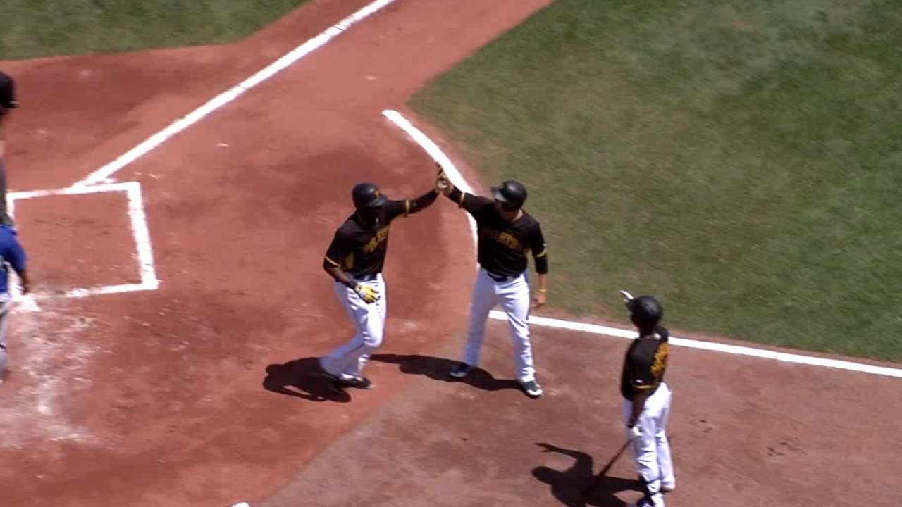 Polanco's two-run home run