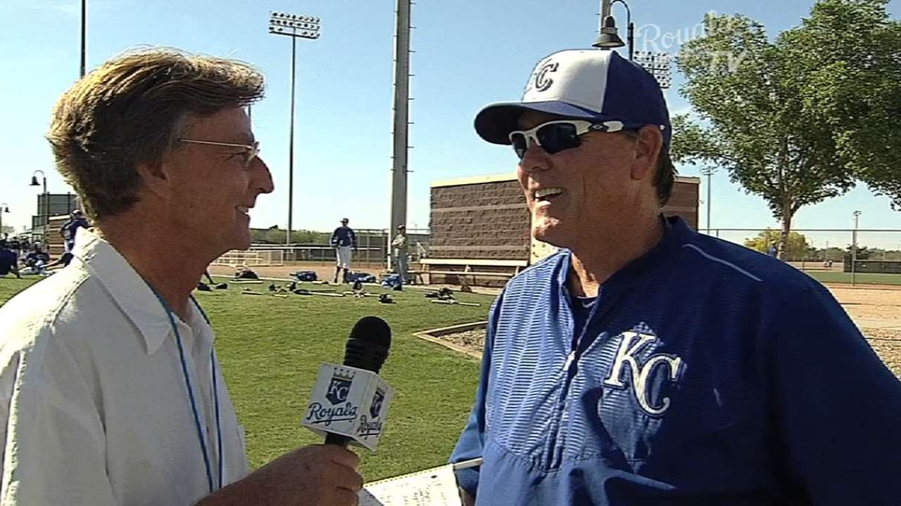 Yost likes how Royals set up for 2015 season