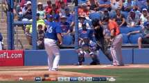 BAL@TOR: Buehrle whiffs Reimold to start the ballgame
