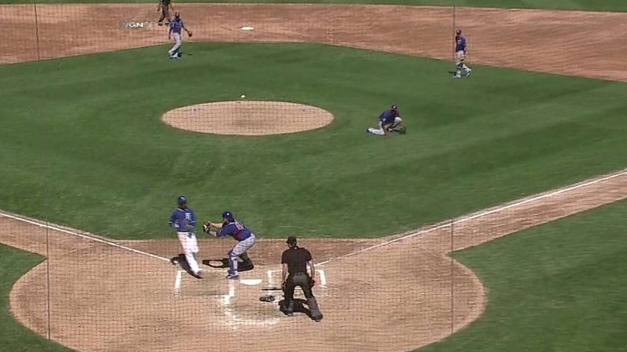 Baez fires to home