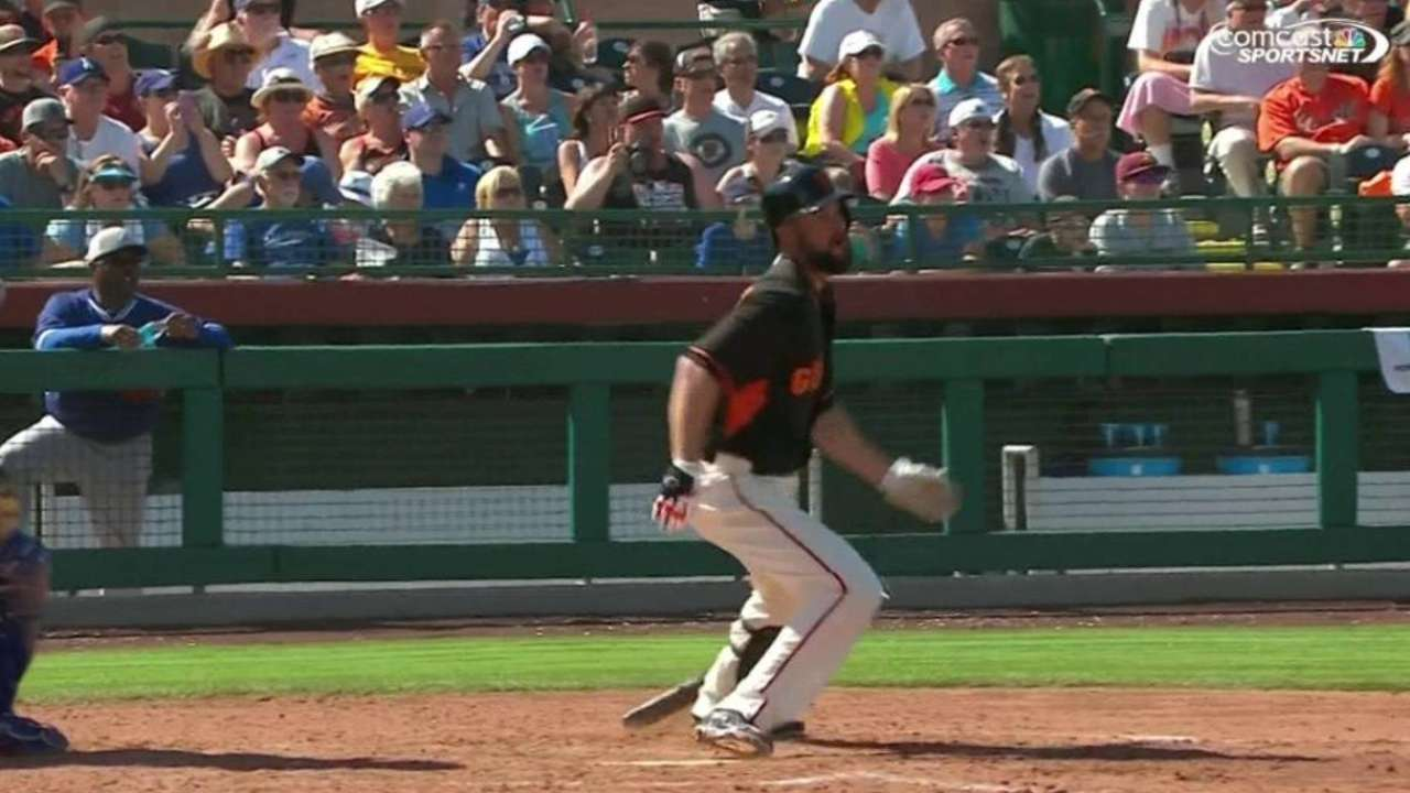 Vogelsong's RBI single