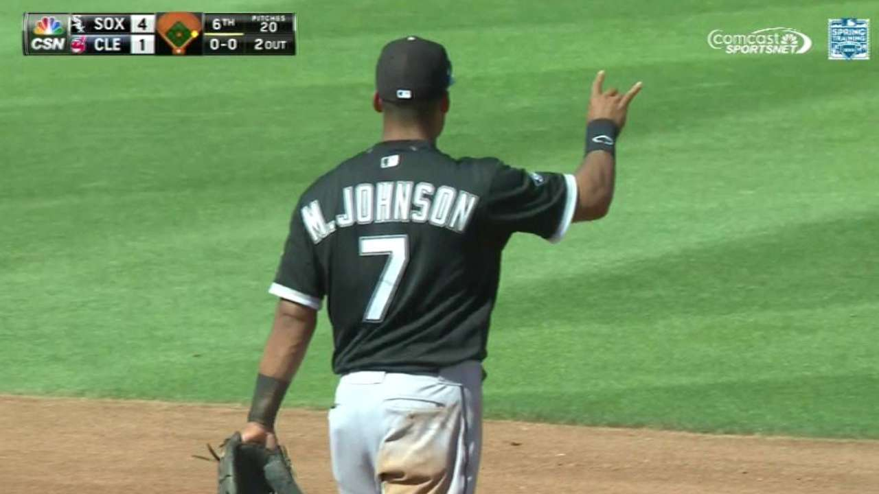 Johnson has edge in second-base competition