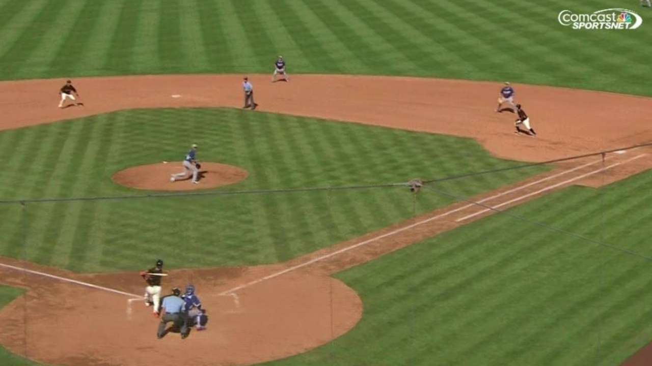 Posey's ground-rule double