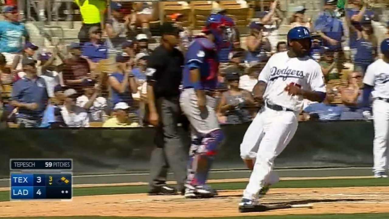 Dodgers' big third boosts McCarthy