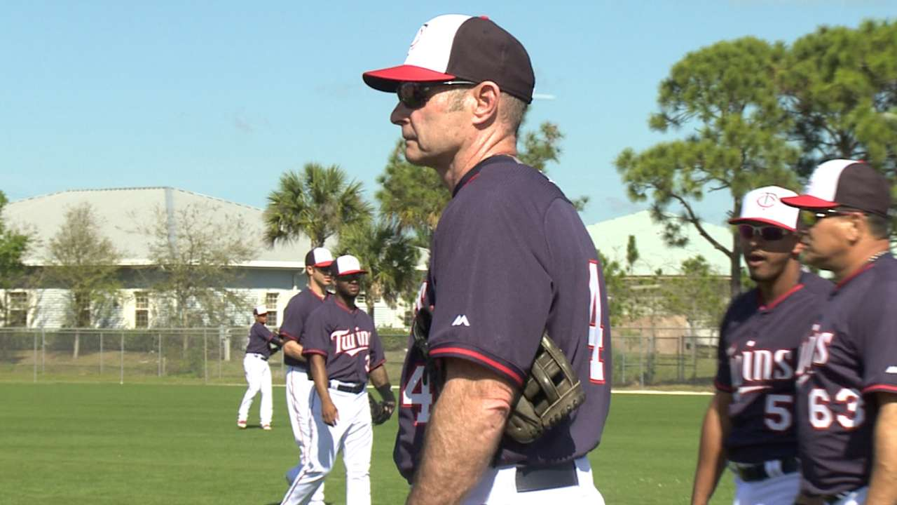 Molitor set for first season as Twins manager to begin