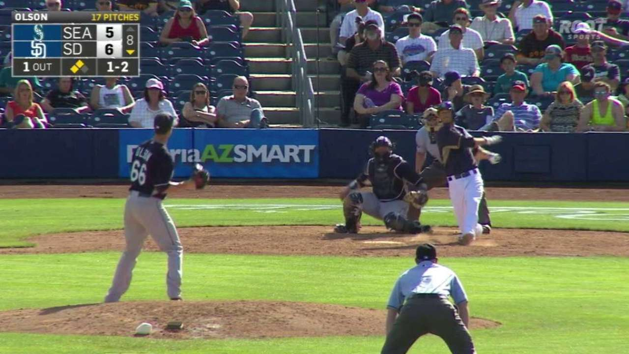 Medica, Almonte among Padres sent to Minors camp