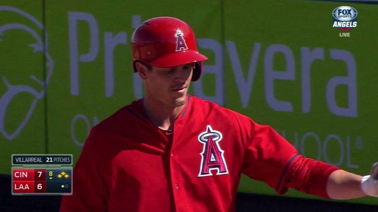 Green gets callup, as Cron heads to Triple-A