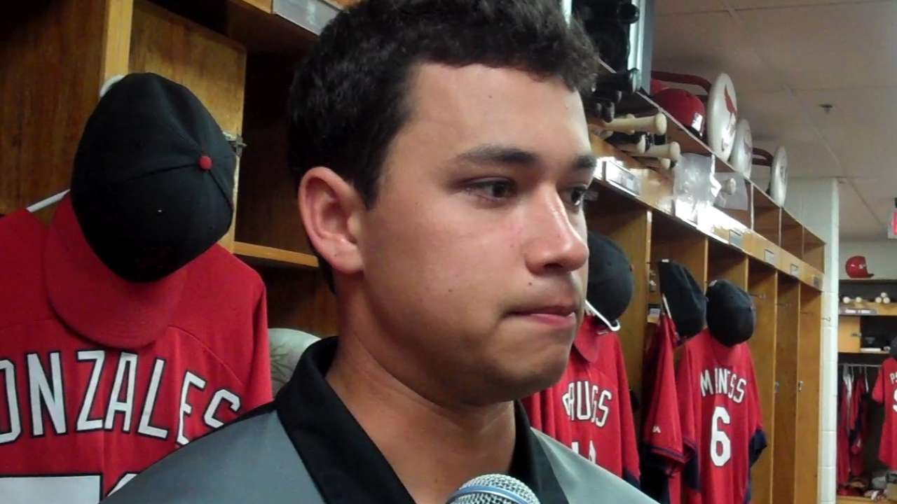 Gonzales on outing vs. Mets