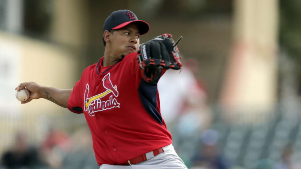 Cardinals name Martinez fifth starter