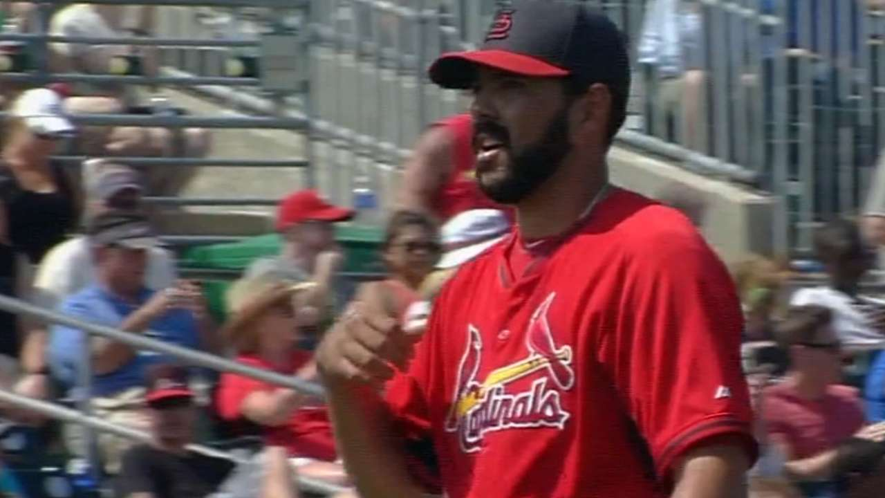 Villanueva lands role in Cardinals' bullpen