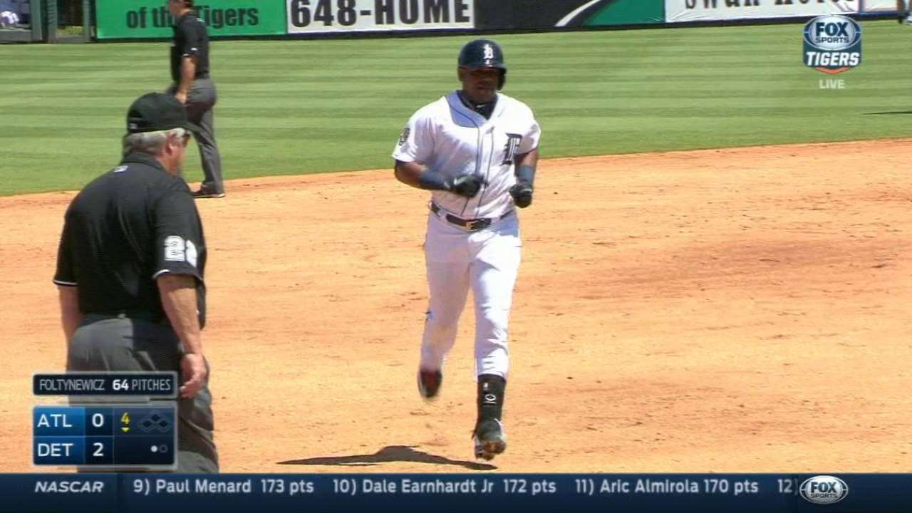 Cespedes homers to back solid outing from Simon