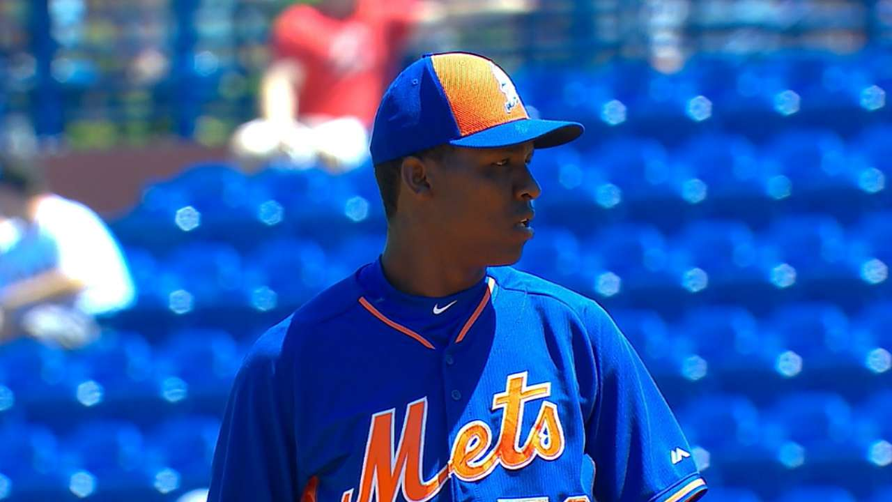 Could Montero unseat Gee in Mets' rotation?