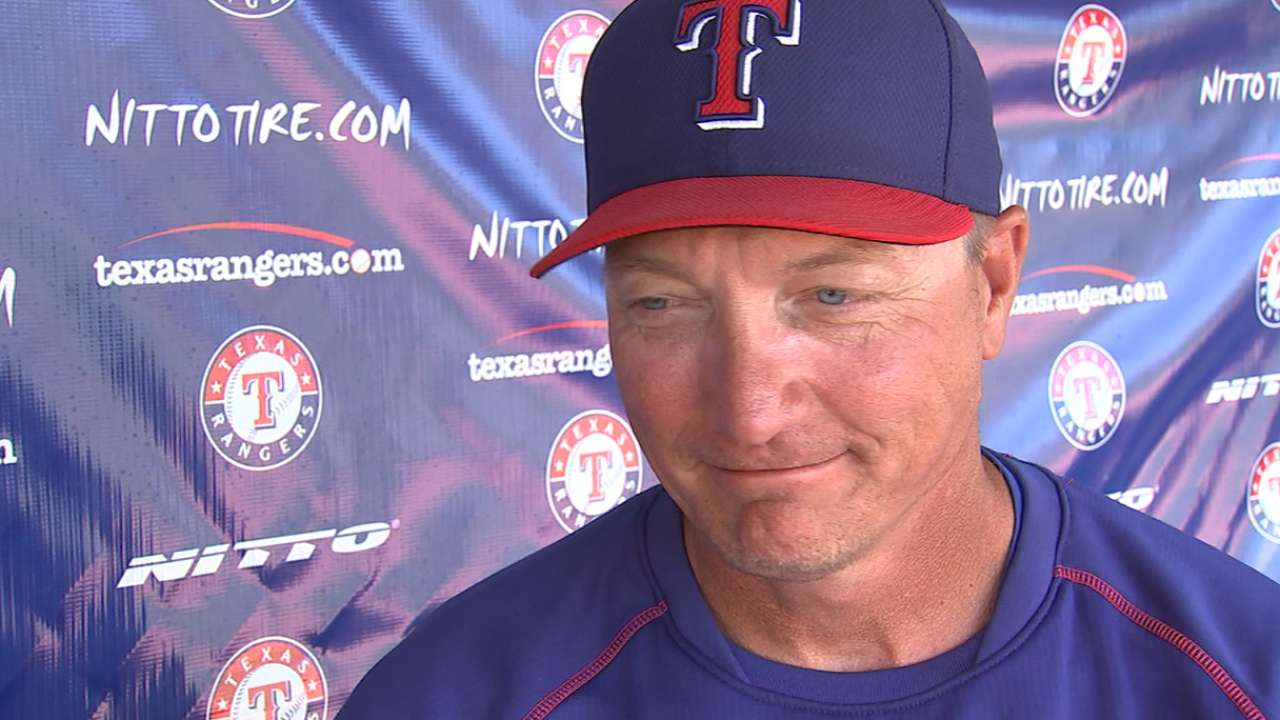 Banister on Opening Day emotions