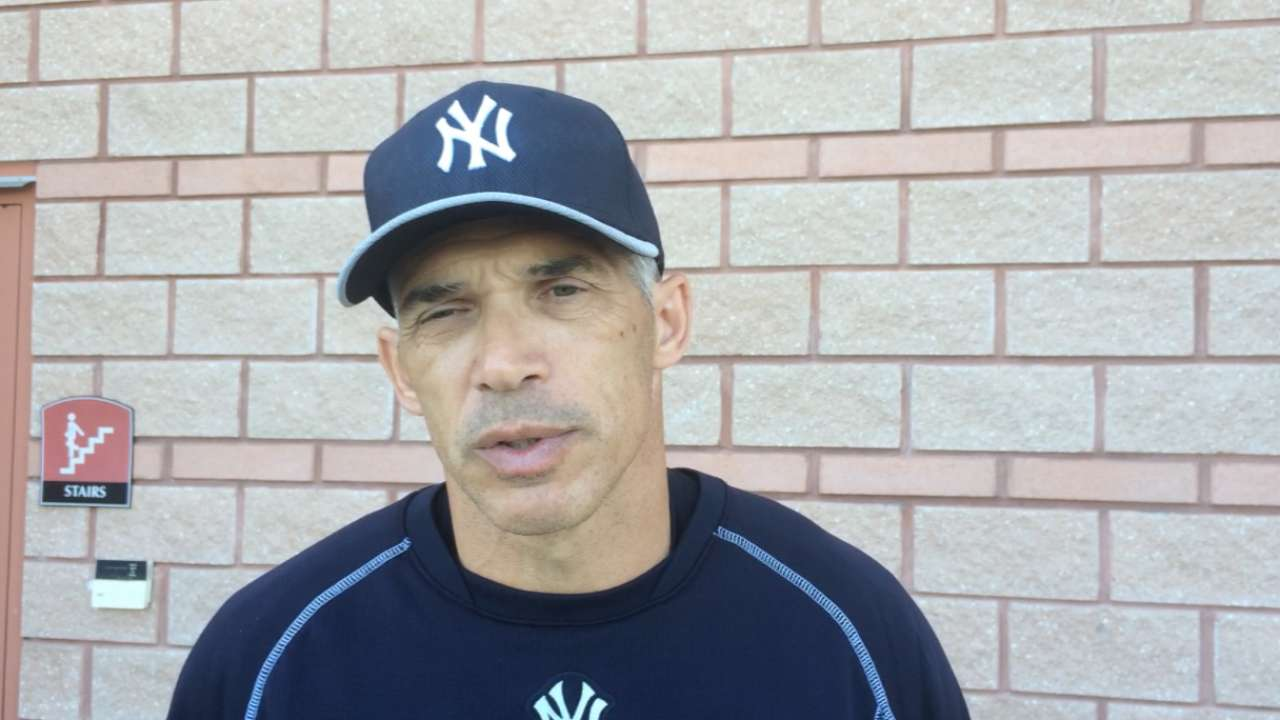 Decisions remain for Girardi as spring winds down