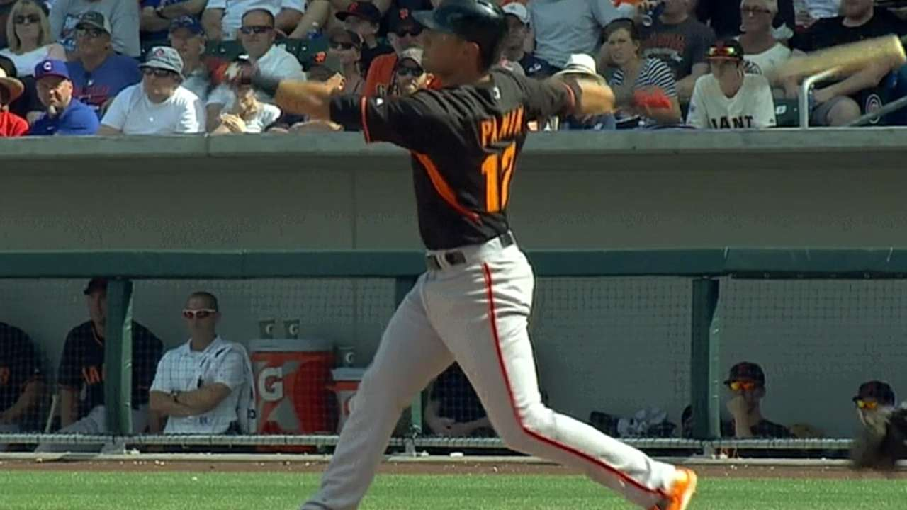 Giants' five-run 6th