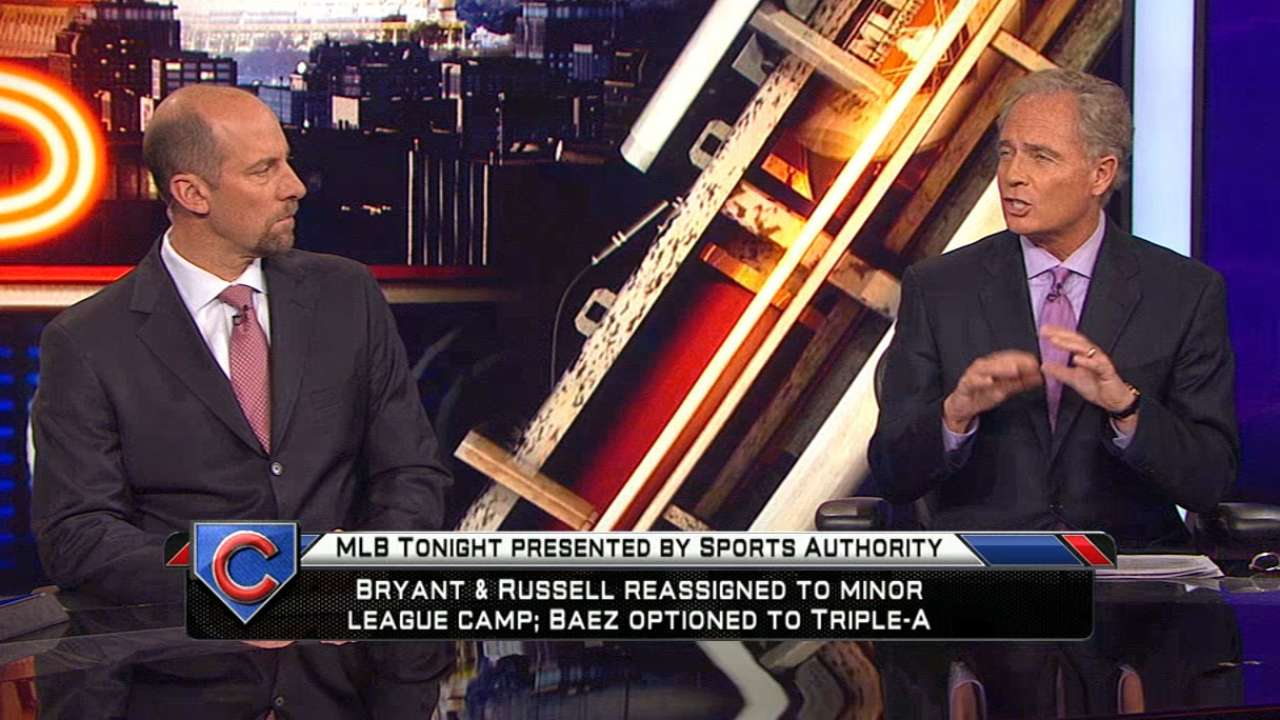 MLB Tonight on Cubs' moves