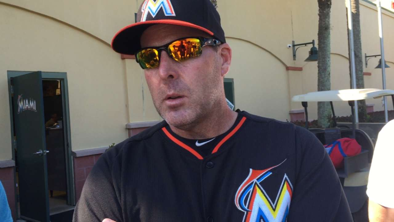 Marlins' Opening Day roster coming into focus