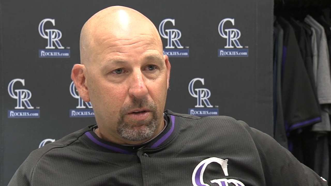 Offensive boost on road crucial for Rockies