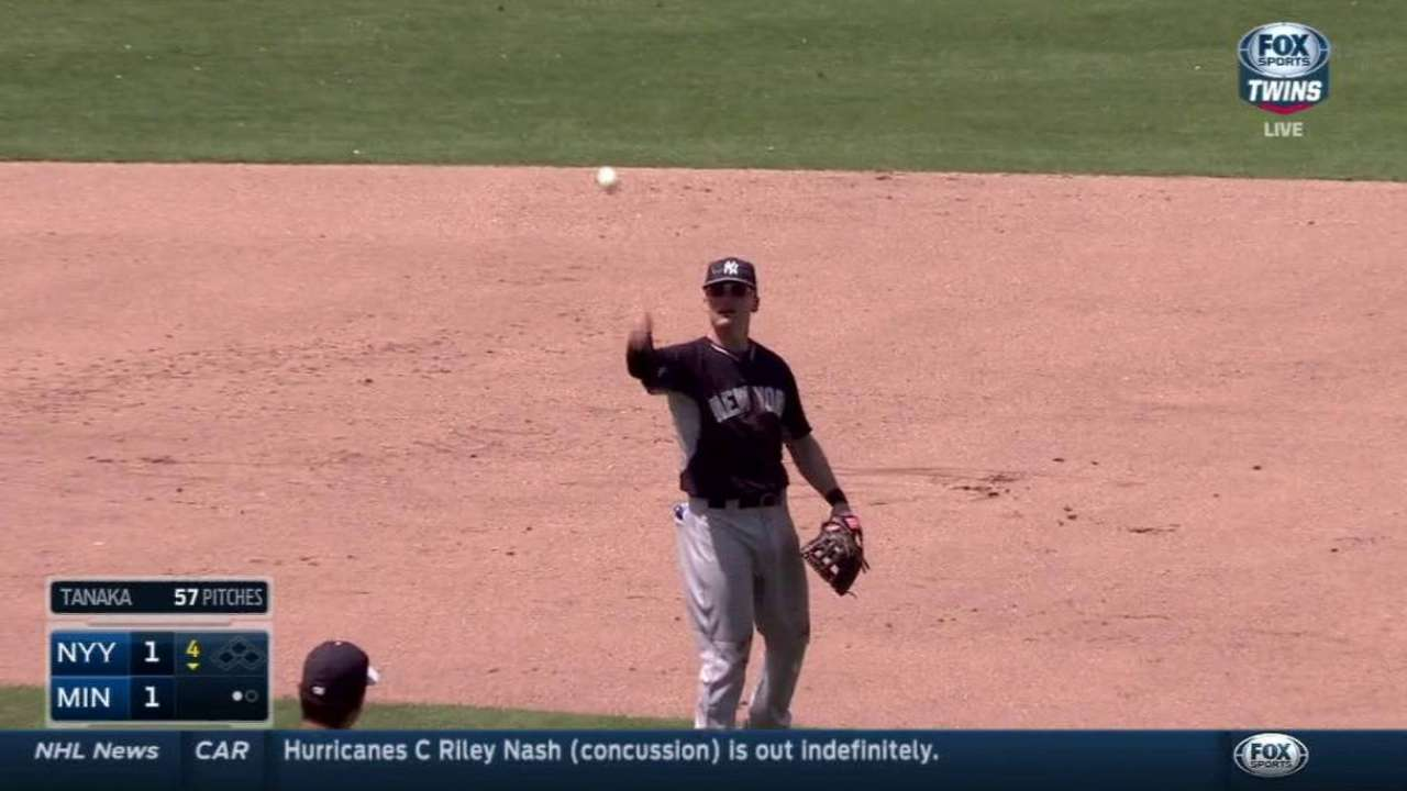 Flores chips in, Martin impresses in relief of Tanaka