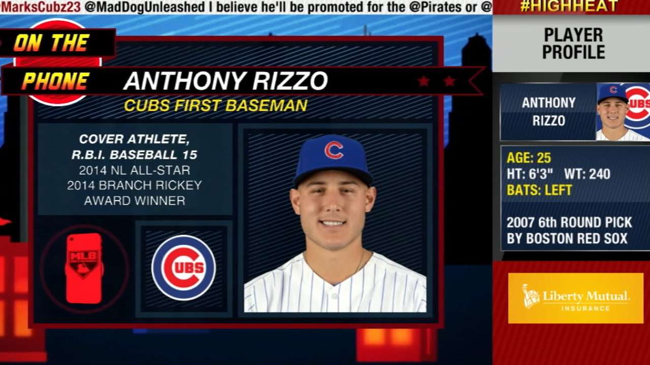 High Heat: Anthony Rizzo