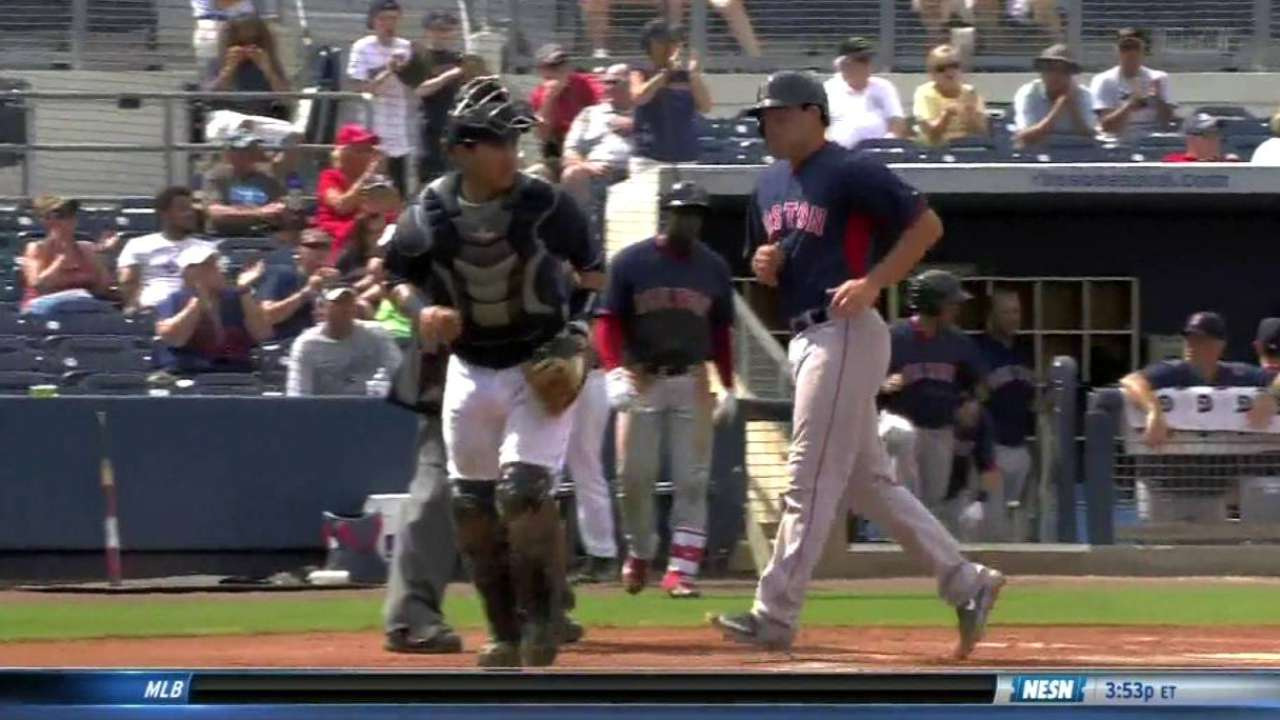 Holt's RBI single
