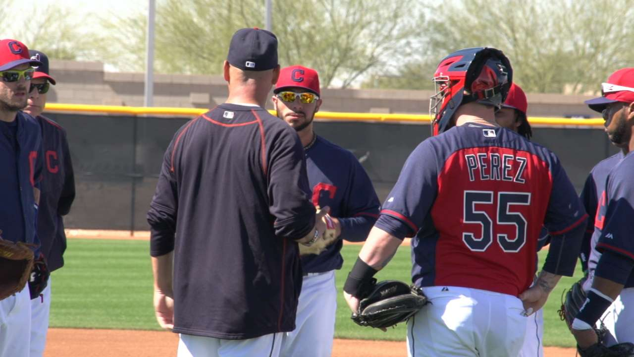 Indians determined to improve in the field