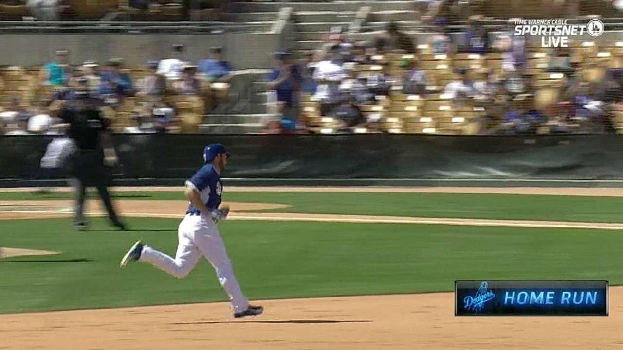 Wieland goes five, Heisey homers in LA's loss to White Sox