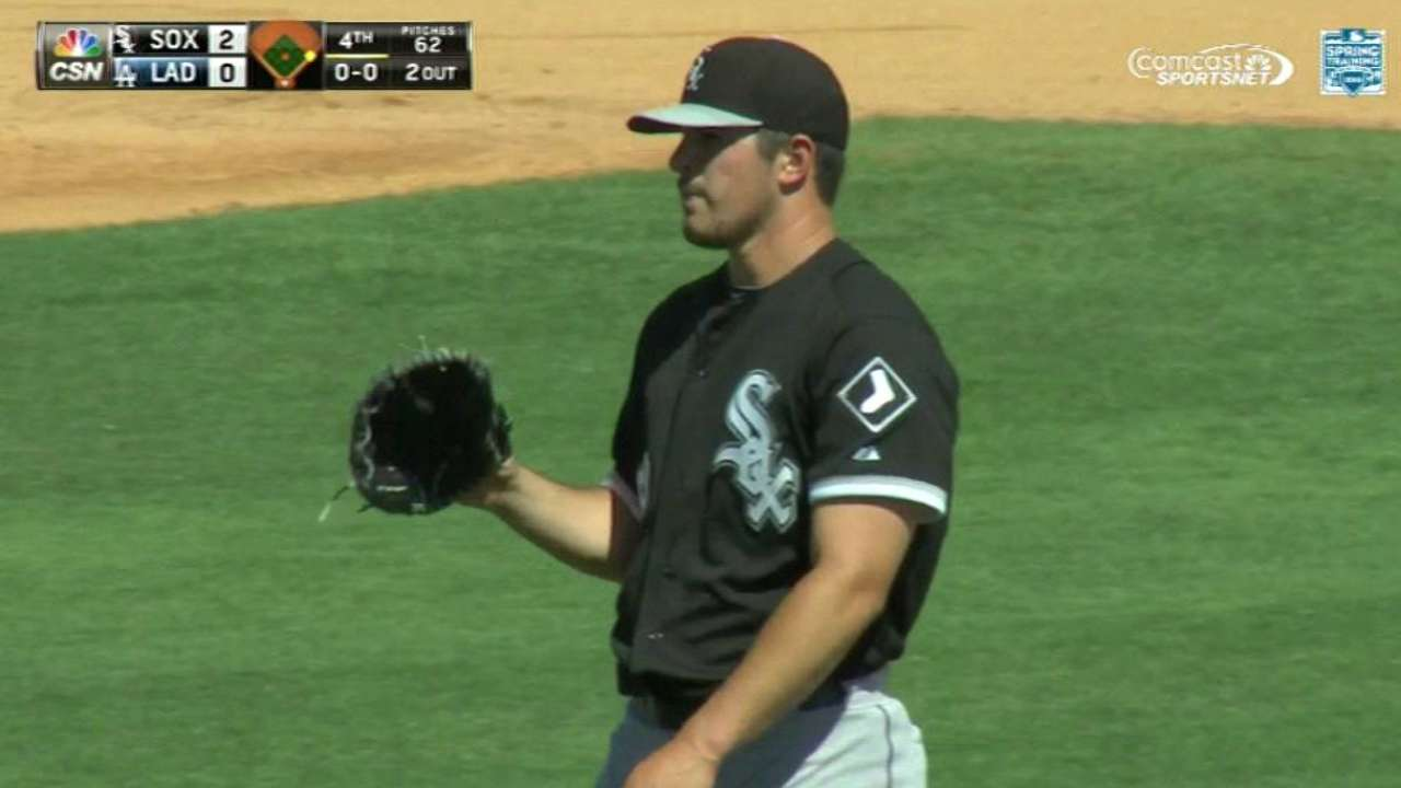 Rodon whiffs Crawford in the 4th