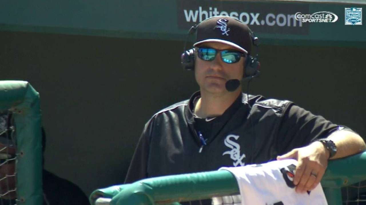 Ventura on the White Sox roster