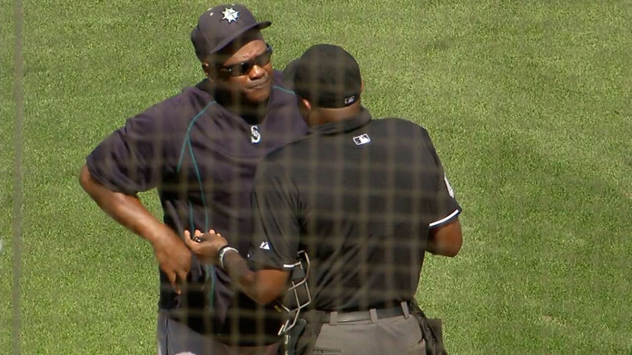 McClendon ejected after benches are warned