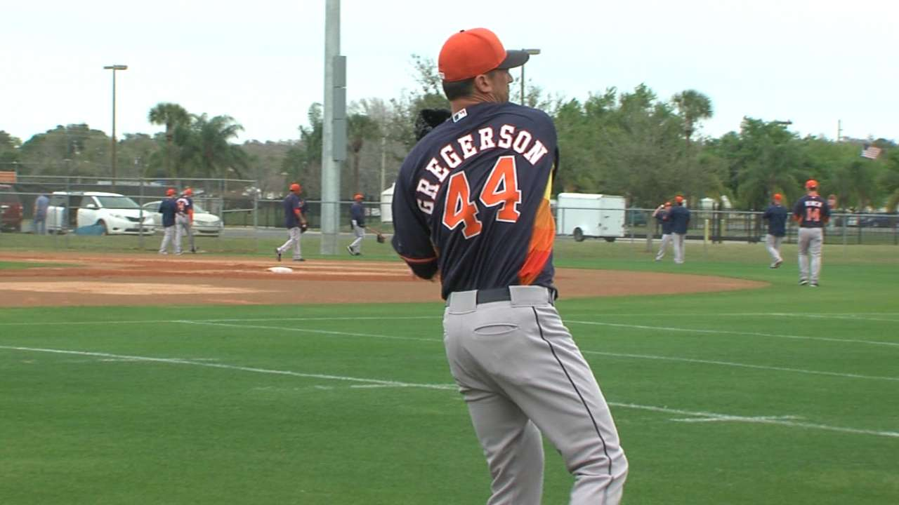 Gregerson named Astros closer