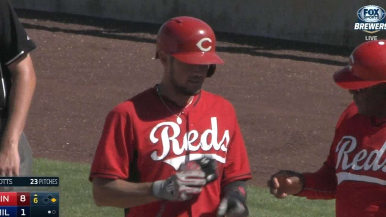 Reds rally for five runs in 6th